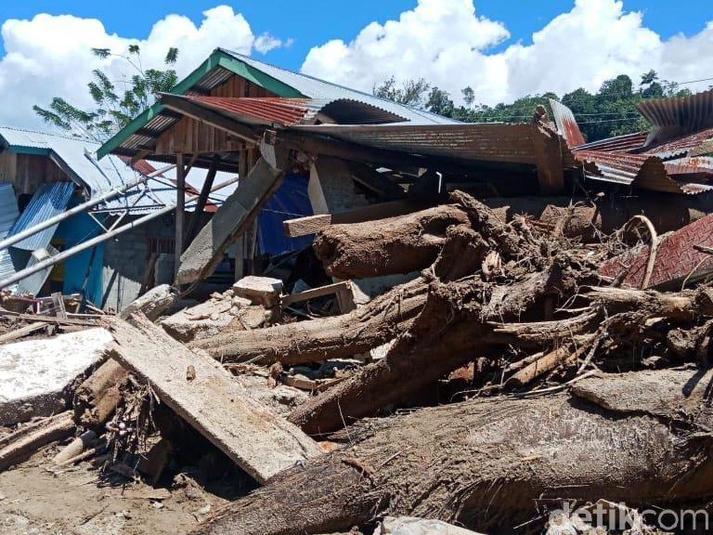Banjir Bandang di Sigi: 7 Rumah Hanyut, 6 Lainnya Rusak Berat