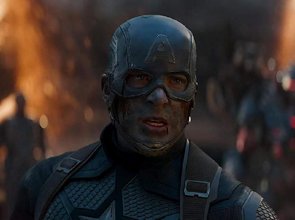 Penampilan Chris Evans di Akhir Avengers: Endgame Bikin Sang Ibu Menangis