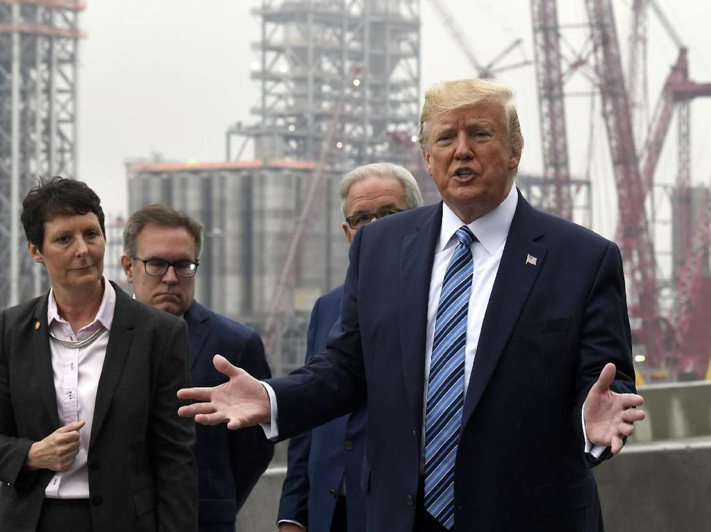 DPR AS Gulirkan Penyelidikan Pemakzulan, Ini Tanggapan Trump