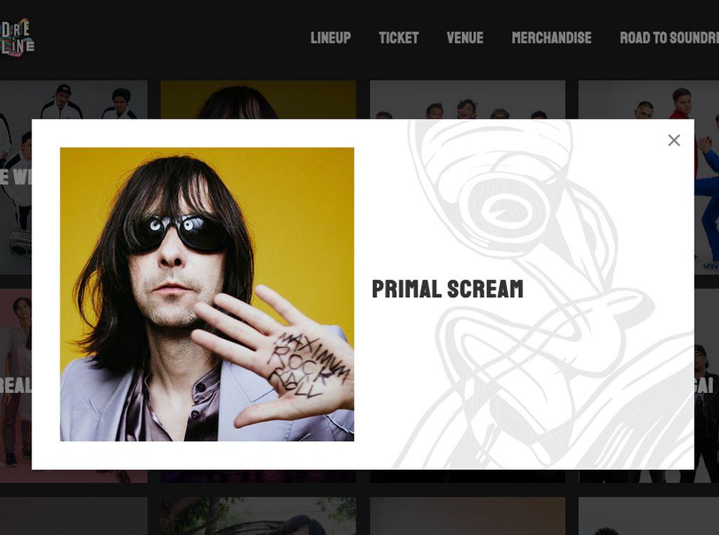 Primal Scream Mendadak Isi Line Up Soundrenaline 2019
