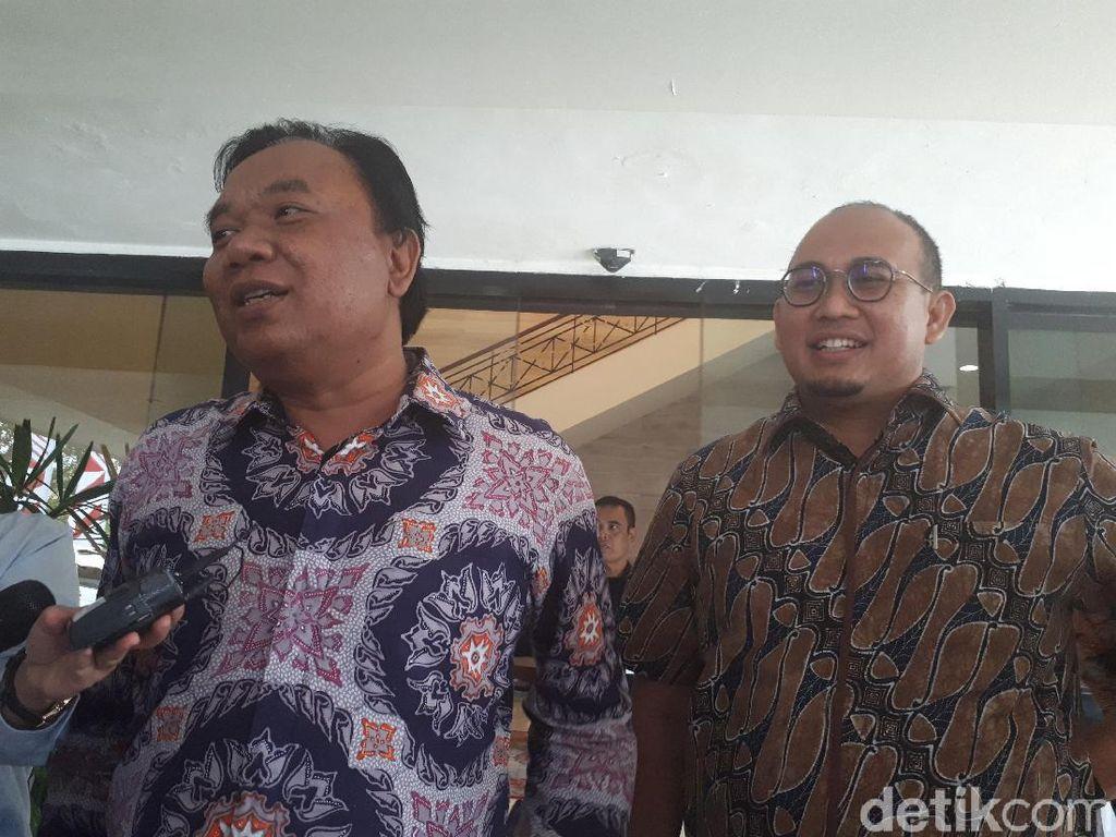 Politisi Gerindra Bahas Polemik Semen di Istana, Bukan Rekonsiliasi