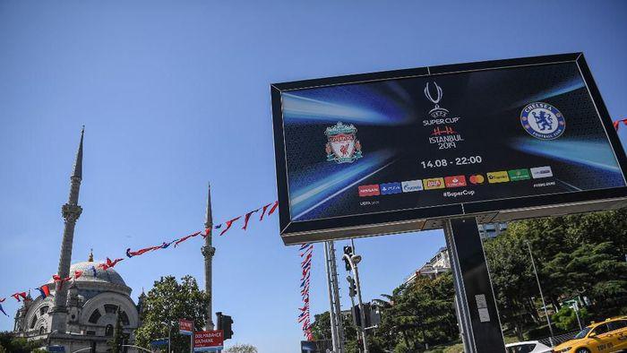 Jadwal Piala Super Eropa Liverpool vs Chelsea (Foto: Ozan KOSE / AFP)