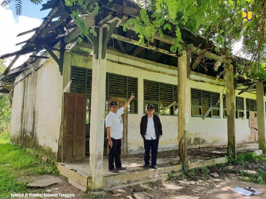 Penampakan Sekolah Rusak yang Bakal Dipugar Jokowi