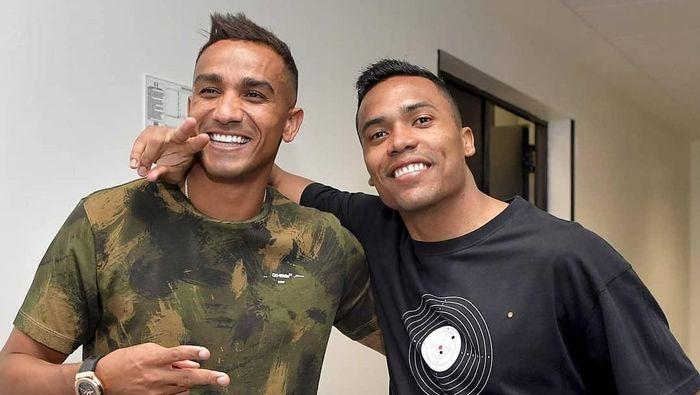 Danilo dan Alex Sandro sudah berteman selama 10 tahun. (Foto: Instagram @juventus)