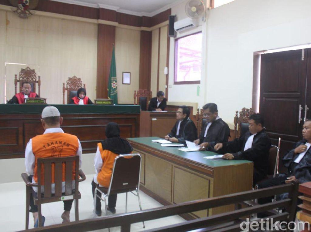 Pasutri Didakwa Pasal Pembunuhan Berencana Anggota DPRD Sragen