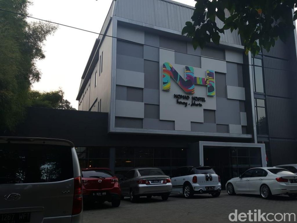 Foto: Hotel Kapsul Instagramable di Jakarta
