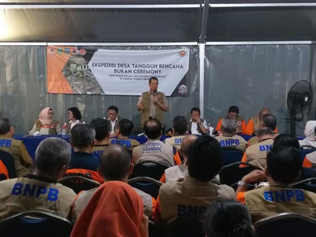 BNPB Sosialisasi Desa Tangguh Bencana, Siapkan Masyarakat Hadapi Tsunami