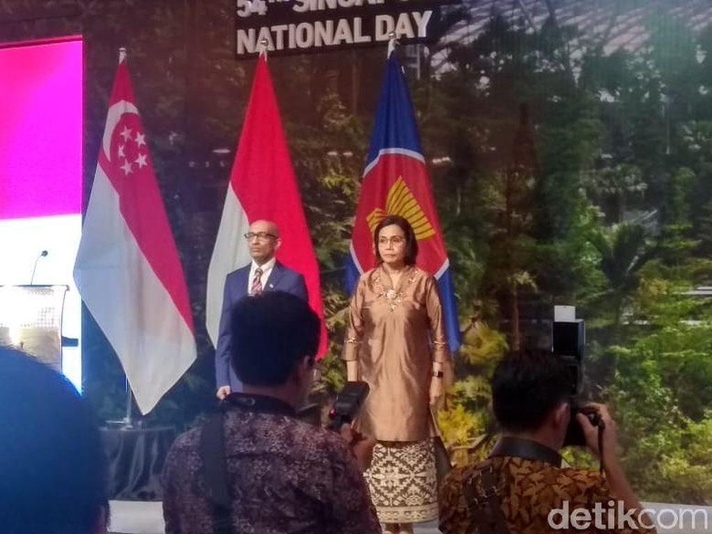 Sri Mulyani, Anies, hingga AHY Hadiri Acara HUT Kemerdekaan Singapura