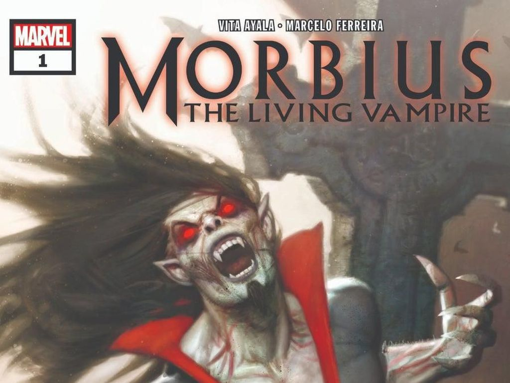 Marvel Umumkan Seri Komik Morbius: The Living Vampire