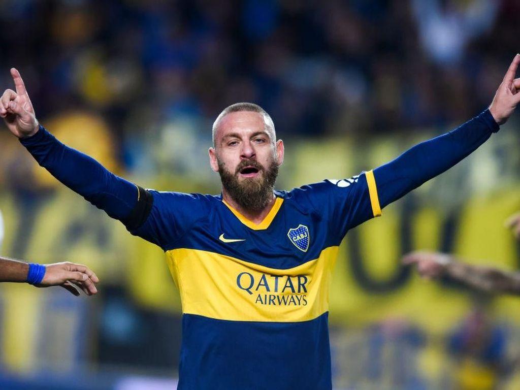 Debut di Boca Juniors, De Rossi Langsung Sumbang Gol