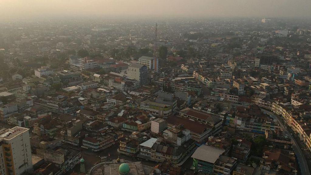 Kabut Asap Selimuti Kota Jambi
