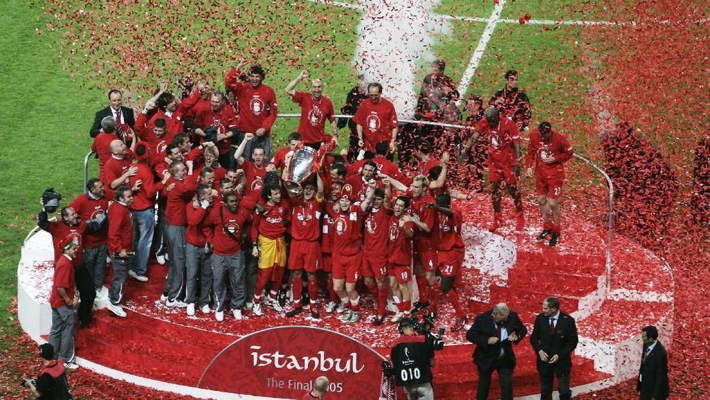 Skuat Juara Liverpool di Istanbul 2005, di Mana Mereka Sekarang?