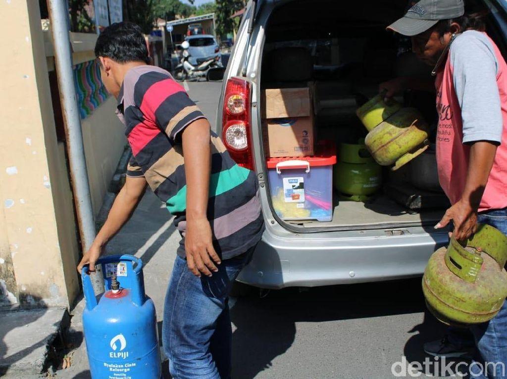 Tempat Pengoplosan Elpiji di Jombang Digerebek, 2 Orang Diamankan