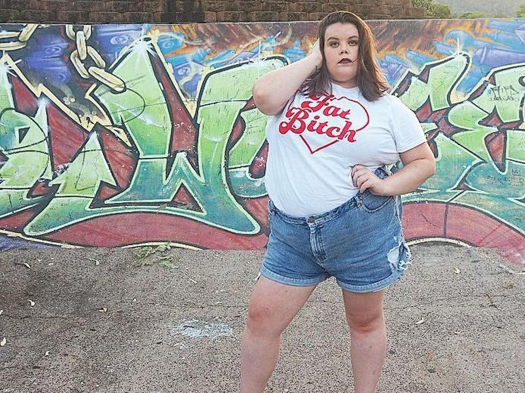 Potret Danielle, Model yang Dapat Ancaman Pembunuhan karena Bertubuh Gemuk