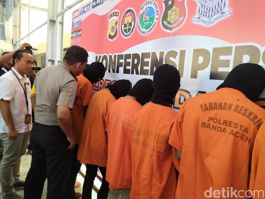 Tujuh Remaja di Aceh Keroyok Rekannya hingga Tewas