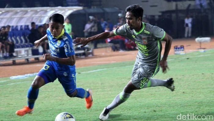 Persib Bandung imbang 2-2 lawan Borneo FC di Liga 1 2019. (Foto: Wisma Putra)
