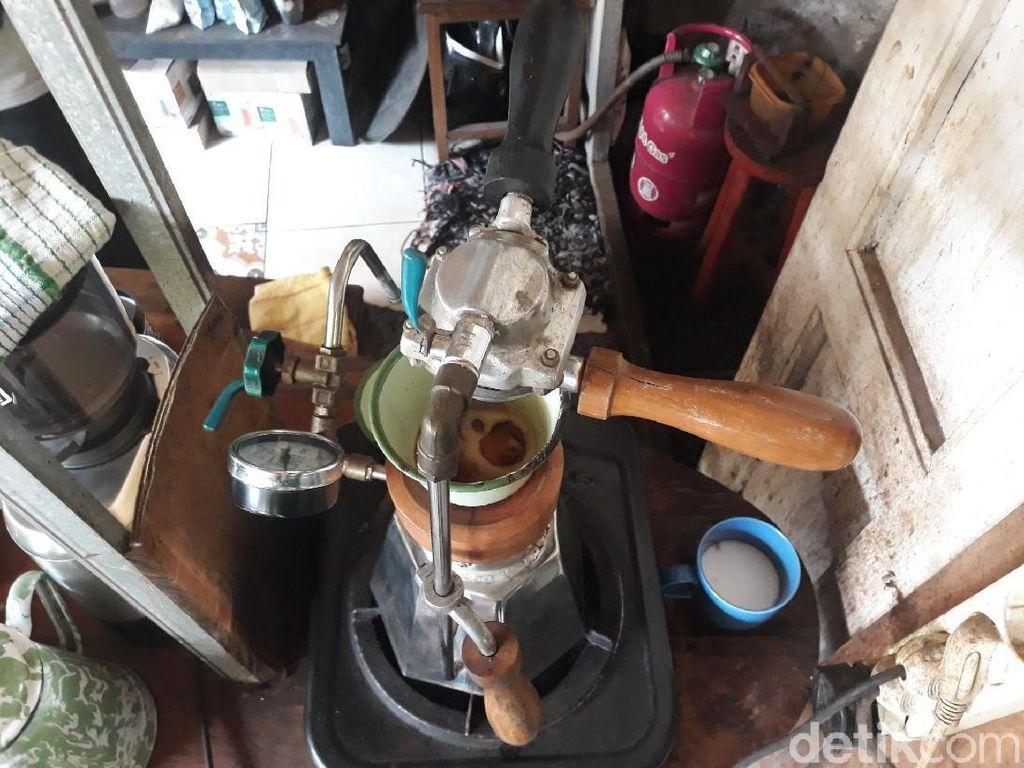 Diekspor hingga ke Jerman, Ini Mesin Espresso Made in Bantul