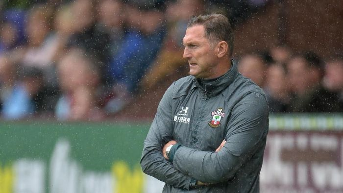 Manajer Southampton Ralph Hasenhuettl tak percaya Liverpool kelelahan (REUTERS/Peter Powell)