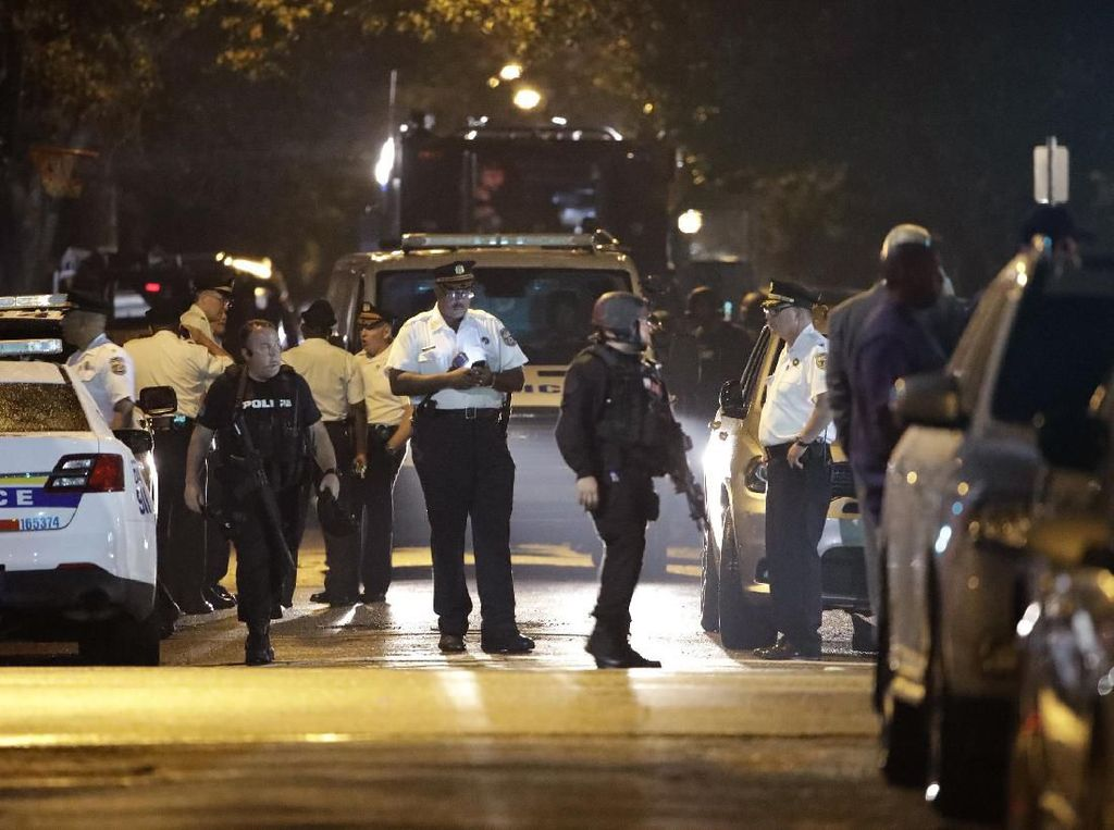 8 Jam Dikepung, Pelaku Penembakan di Philadelphia Akhirnya Ditangkap