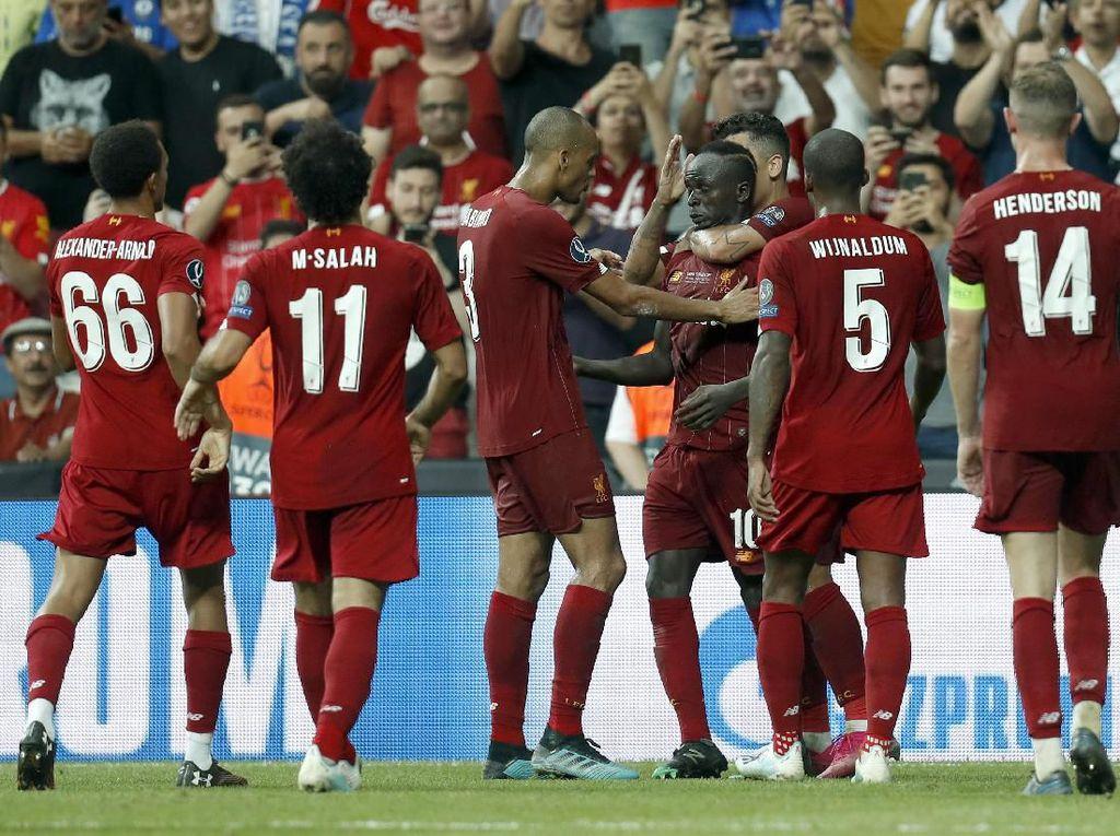 Hasil Piala Super Eropa: Tumbangkan Chelsea, Liverpool Juara