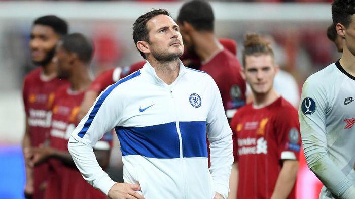Frank Lampard sudah kalah tiga kali di laga Piala Super Eropa selama jadi pemain dan manajer (Foto: Michael Regan/Getty Images)