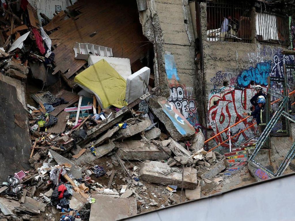 Rumah di Chile Ambruk, 6 Orang Tewas