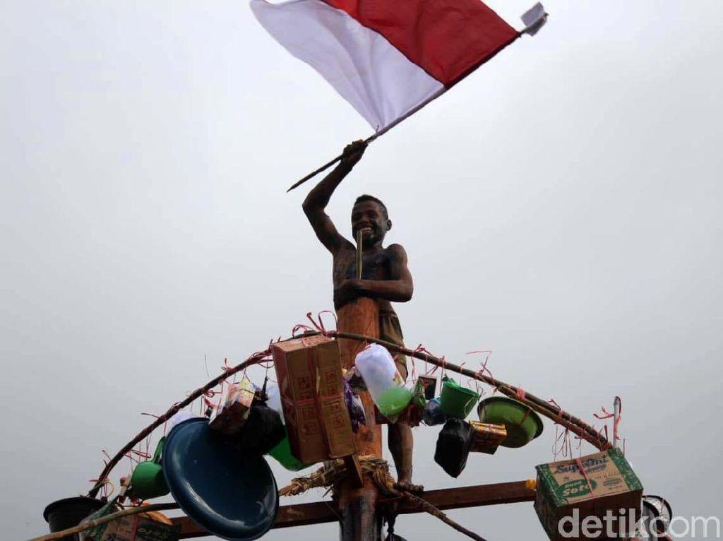 Serunya Lomba Sambut HUT RI di Kampung Bupul Merauke
