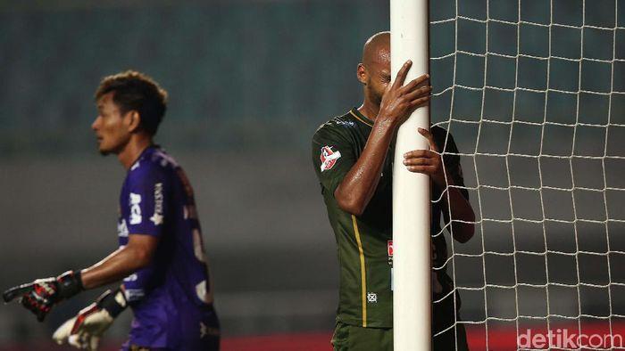 Tira Persikabo kalah 1-2 dari Bali United. (Foto: Agung Pambudhy)