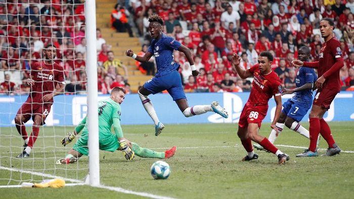 7 statistik usai Liverpool mengalahkan Chelsea di Piala Super Eropa. Foto: John Sibley / Reuters