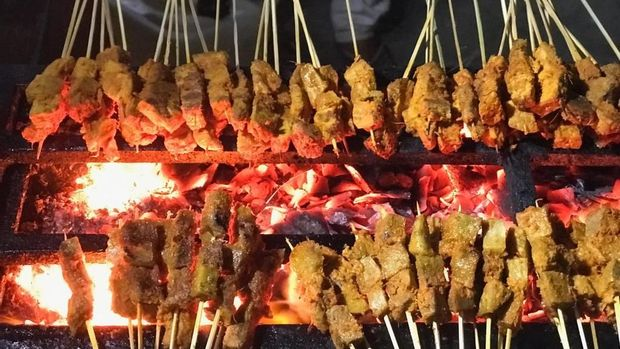 Sate Padang Ajo Ramon Program Bikin Laper Trans TV