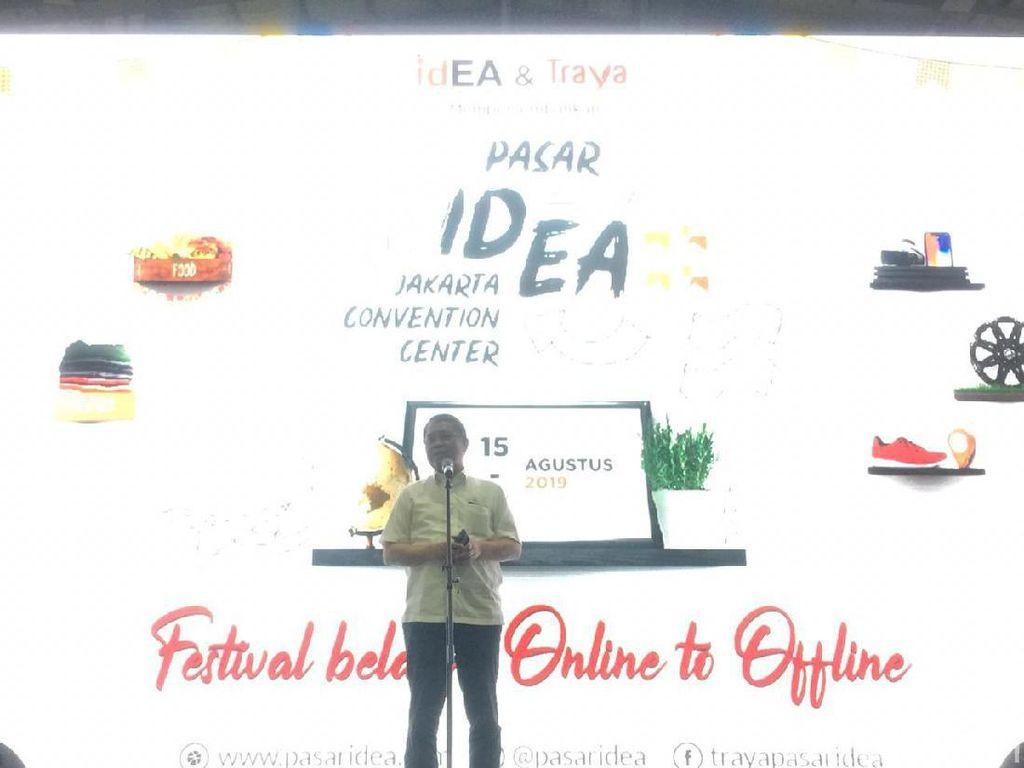 250 Pedagang Online Kumpul di JCC Buka Pasar Offline