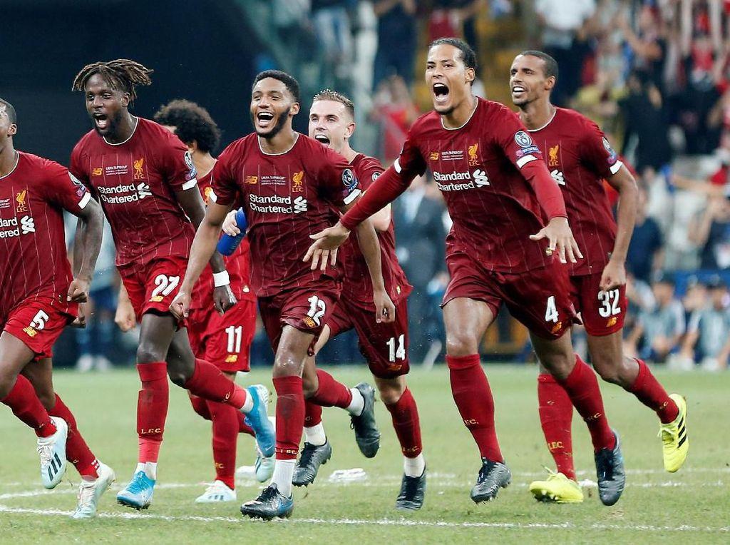 Liverpool Rajanya Eropa