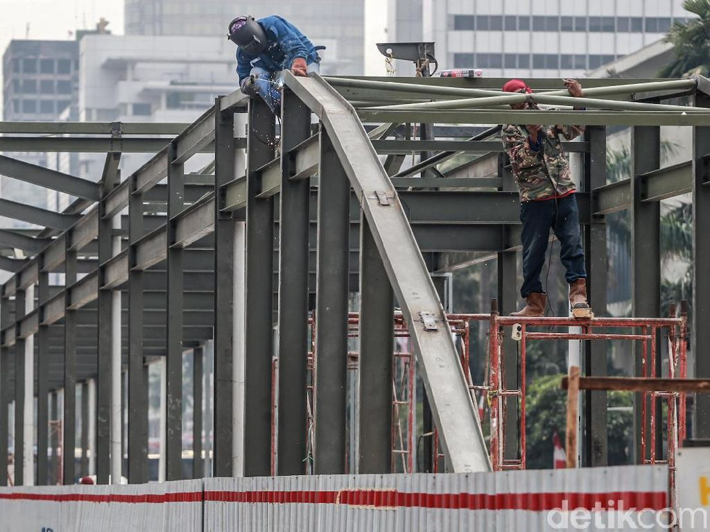 Pembangunan Halte Tosari Baru Terus Dikebut
