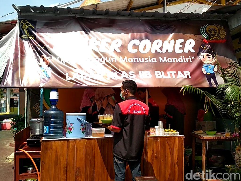 Bimker Corner, Wujud Napi Lapas Blitar Merdeka Ekspresikan Bakatnya