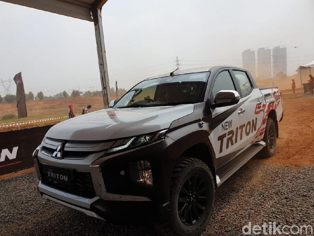 Sudah Sweet 17, Mitsubishi Triton Terjual 80 Ribu Unit