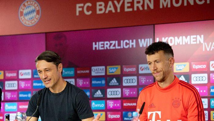 Niko Kovac membela Ivan Perisic yang dianggap pembelian dadakan Bayern Munich (Daniel Kopatsch/Pool via REUTERS)