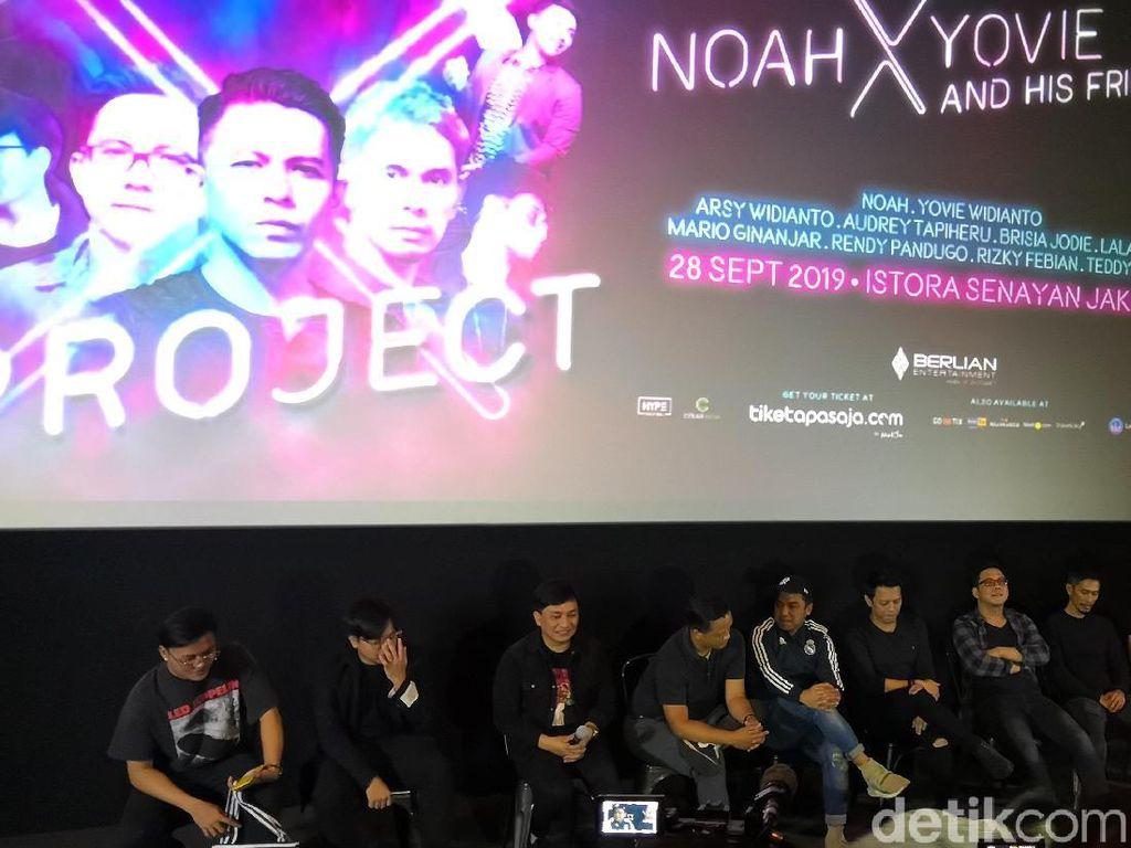 Project X Satukan NOAH dan Yovie Widianto