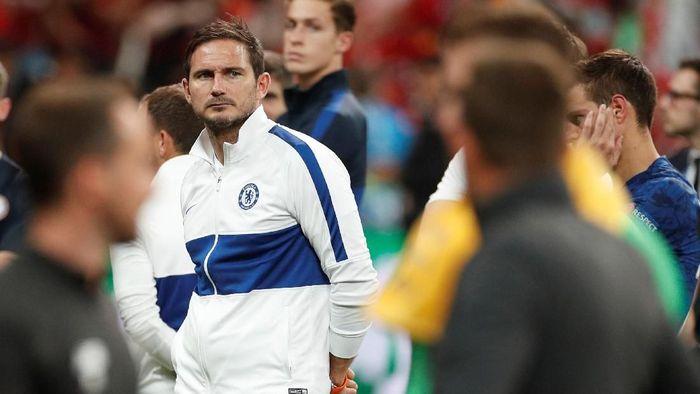 Frank Lampard menyoroti perbedaan jeda pertandingan antara Chelsea dan Liverpool sebelum duel di Piala Super Eropa (Foto: John Sibley/Action Images via Reuters)