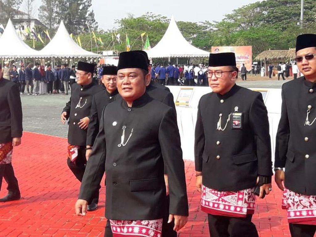 Bupati Resmikan 12 Proyek Sekolah-Puskesmas di HUT Kabupaten Bekasi ke-69
