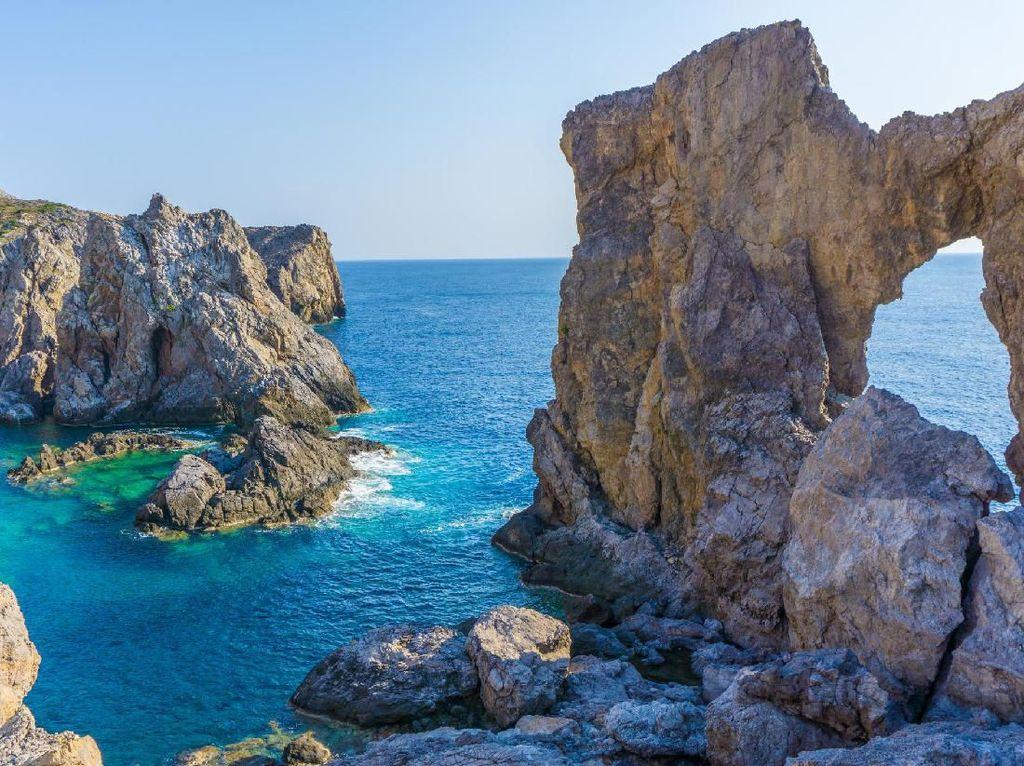 Foto: Pulau Cantik di Yunani Sedang Mencari Penghuni