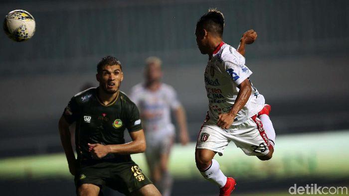 Bali United kalahkan Tira Persikabo 2-1. (Foto: Agung Pambudhy)
