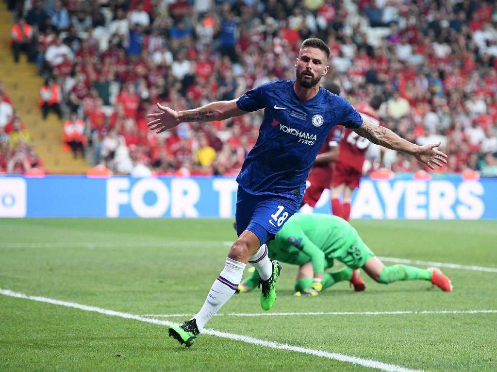 Babak I Liverpool Vs Chelsea: Giroud Bawa The Blues Memimpin