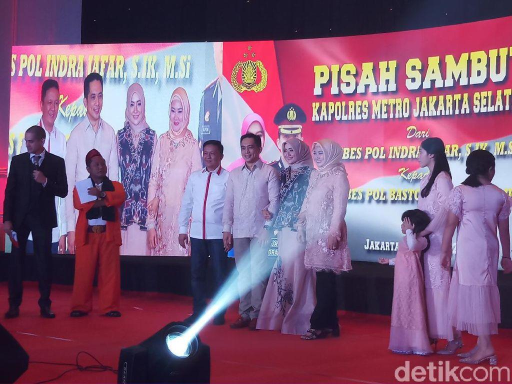 Pisah-Sambut Kapolres Jaksel, Kombes Indra Jafar Kenang 3 Momen