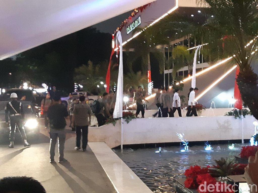 Jelang Sidang Tahunan, Jokowi Cek Gedung DPR