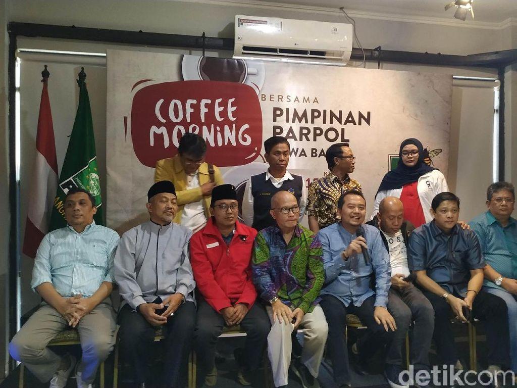 10 Pimpinan Parpol Jabar Desak Moratorium Pemekaran Wilayah Dicabut
