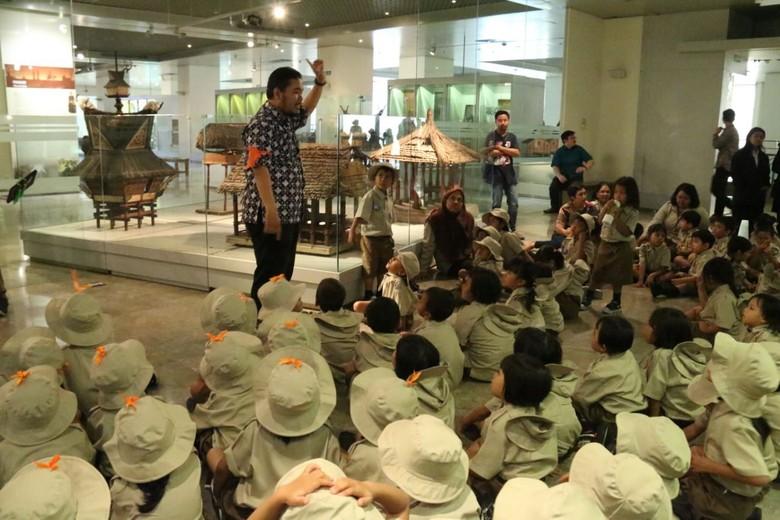 Tanamkan Nasionalisme, 1.000 Siswa PAUD Diajak Keliling Museum