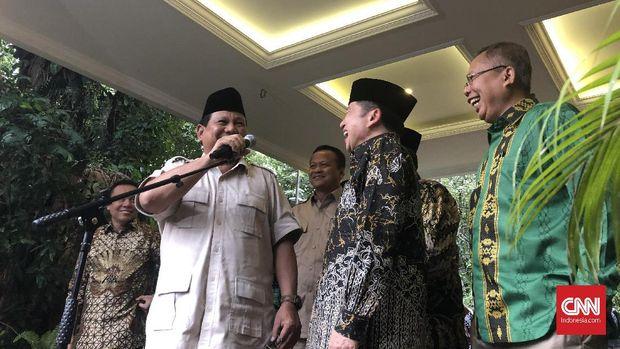 Prabowo Sebut Gerindra-PPP Bahas Legislatif dan MPR