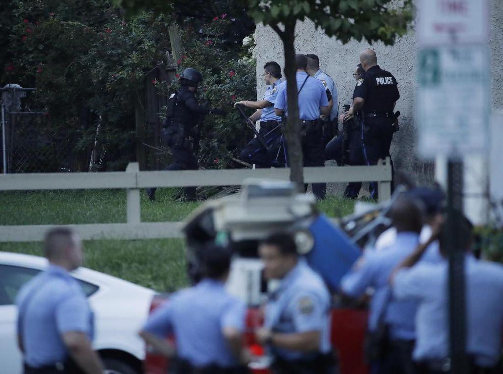 Detik-detik Penembakan di Philadelphia Saat Penggerebekan Narkoba