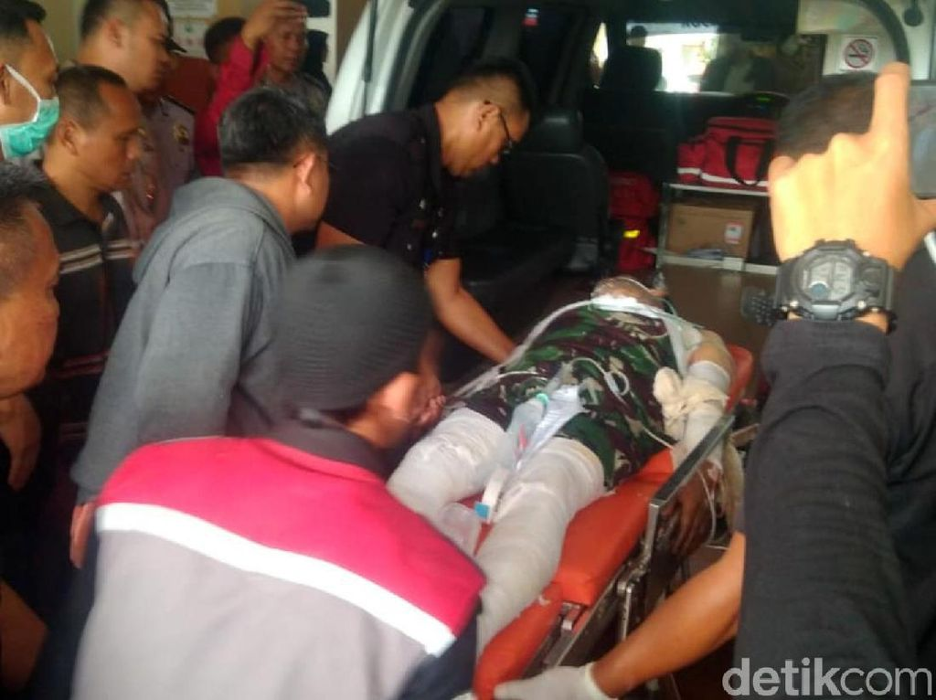 Polisi yang Terbakar Hidup-hidup Jalani Koreksi Cairan, Prosedur Apa Itu?