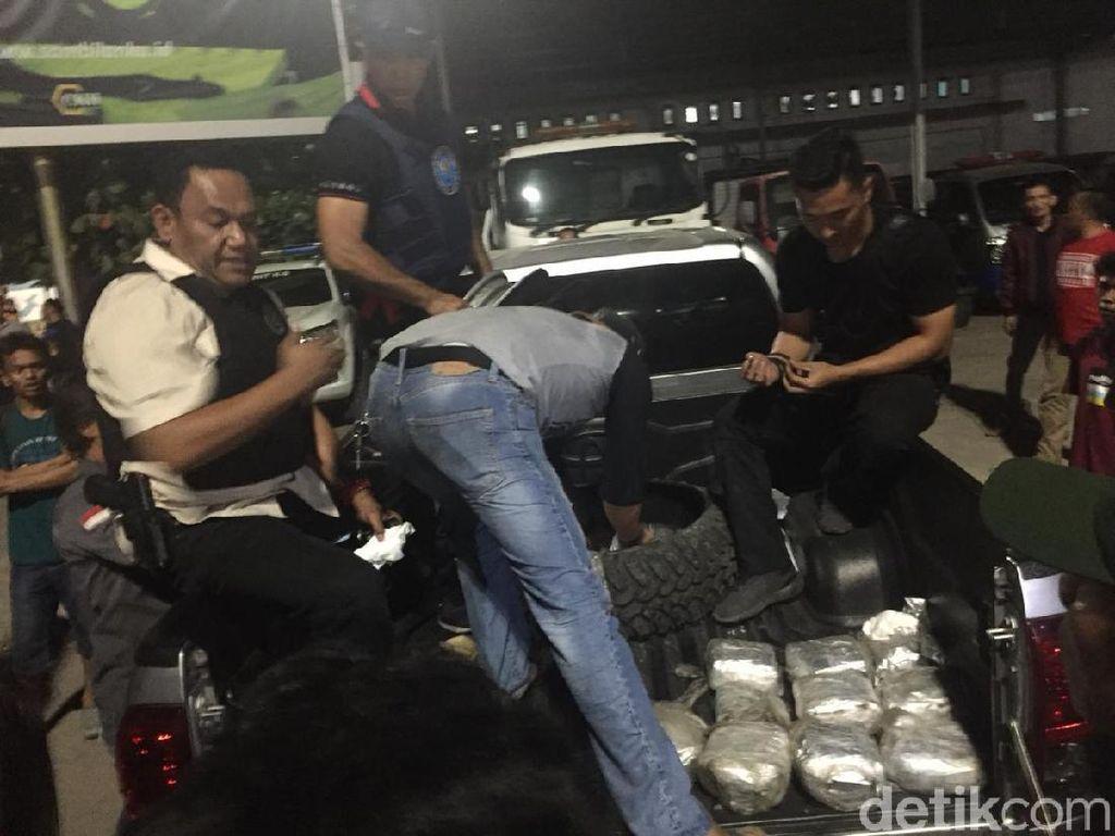 BNN Gagalkan Penyelundupan Sabu 20 Kg yang Disimpan di Ban Serep Pikap